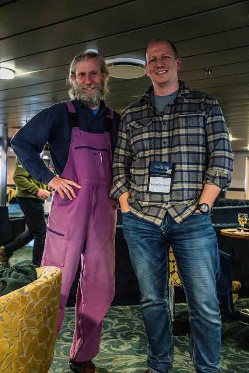 Bruce Hooke and I.