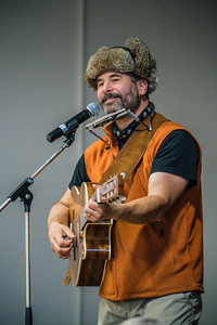 David Newland, our tour host, performing at the Umiyaqtutt Festival.