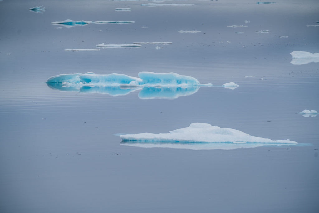 Sea ice in the Northwest Passage