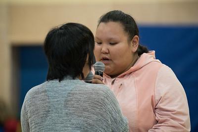 Throat singing at the Umiyaqtutt Festival
