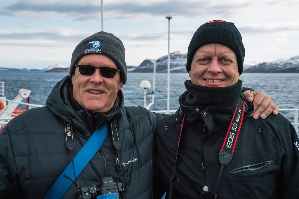 Mike (Kamloops) and Jens (Copenhagen)