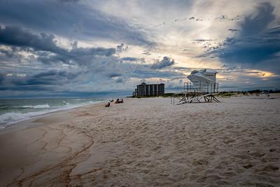 Moody Twilight at Johnson Beach