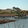 Wooden Outpost in Currituck Sound