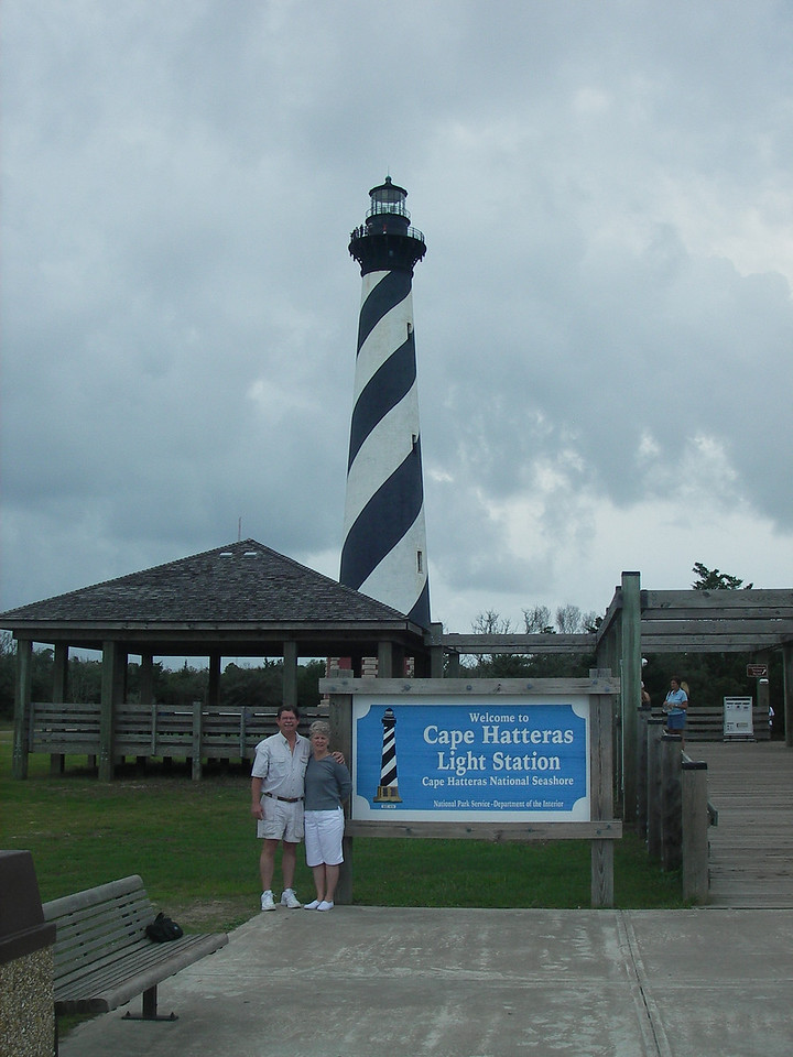 Cape Hatteras Light Station on the Cape Hatteras National Seashore, Outer Banks, North Carolina