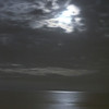 Nothing more romantic than a walk on the beach with a full moon casting moonbeams on the water, Kill Devil Hills, North Carolina