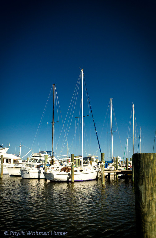 Waterfront Docks, Manteo, North Carolina