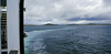 Looking back to Berneray,  the vessel's wake illustrates her 'zig-zag' course between the first two buoys.
