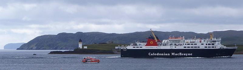 Isle of Lewis passing Arnish Point