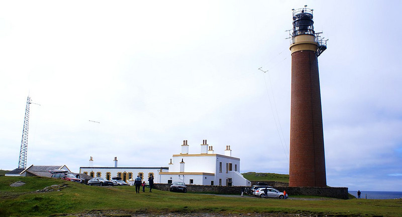 The Butt of Lewis Lighthouse was designed by David Stevenson of the famous family of lighthouse engineers. It was constructed in 1862 for the Commisioners of Northern Lights, the Scottish equivalent of Trinity House in England and Wales,