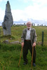 Dad at Callanish