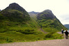 Another brief halt to take a look at the incredible scenery of Glencoe, which is awesome in any weather