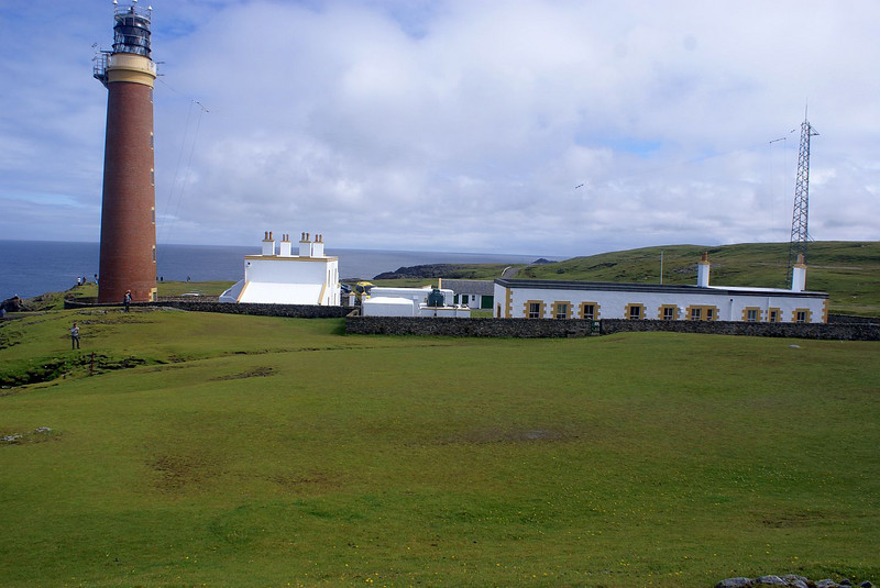 The Butt of Lewis is one the General Lighthouse Authorities transmitting stations for Differential GPS.