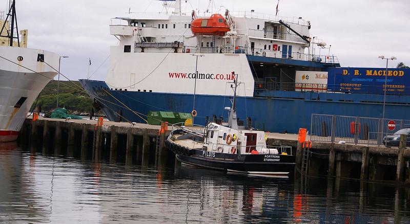 Stornoway Harbour pilot cutter Portrona