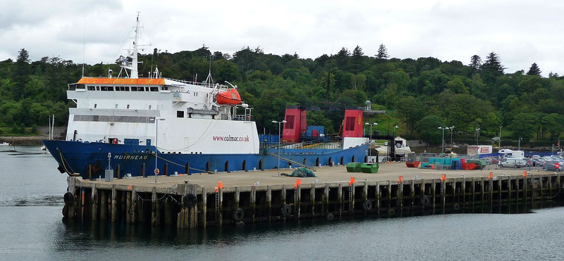 Muirneag at Commissioners Quay, Stornoway