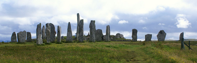 It is reckoned that the Standing Stones at Callanish on the West side of Lewis have been there for almost 5000 years