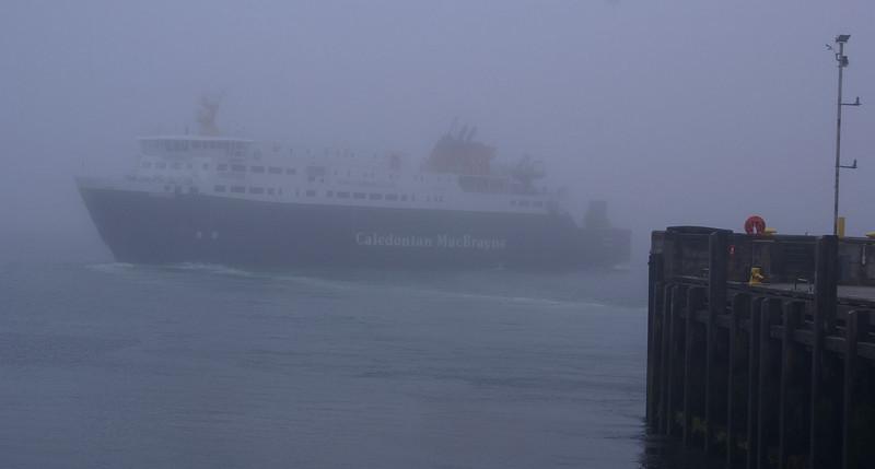 Hebrides in mist!