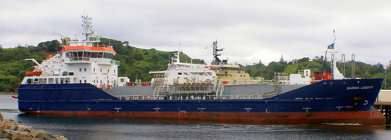 Small taker Sarnia Liberty at Stornoway