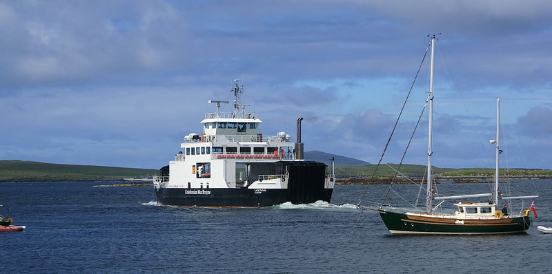 Loch Portain leaving Leverburgh