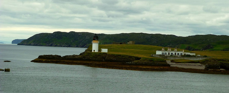 Arnish Point lighthouse from MV Isle of Lewis