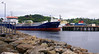 Sarnia Liberty arriving At Stornoway with a cargo of refined oil grades