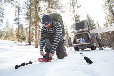 Snow camping and overlanding with The Adventure Portal and Prometheus Design Werx