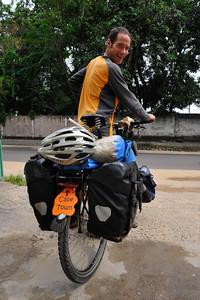 Mark Wallis, British, Milton Keynes to Cape Town by Bicycle, may 2011, www.wallisonwheels.com