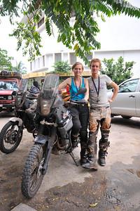 Isabel & Nicolaas, Belgium, Going south then east, Yamaha Tenere XT660Z, 18-03-2011, www.roamingafrica.be