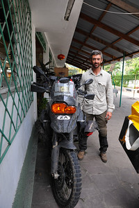 Frederick, South African, going north, BMW F800GS, 12-03-2011, www.cape2tangiers.co.za