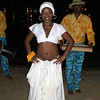 Another dancer at the Welcome Dinner at Le Tamassa Resort.