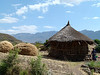 En route to the village of Lalibela from the Airport.