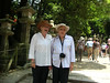 Suzie and Bette at the Kasuga Shrine at Nara, Japan - courtesy of the Dunns.