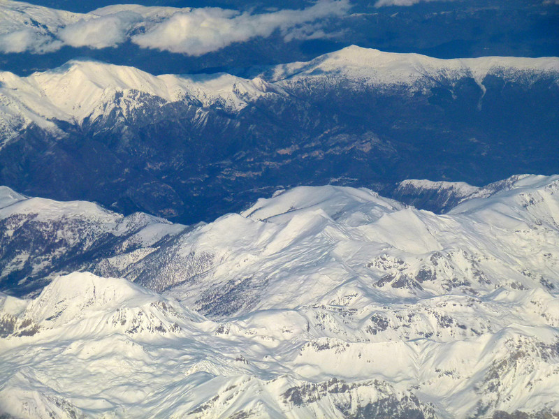 Wednesday 24 November 2010 - On the flight back to London from Libya, we were blessed to have spectacular views of the snow covered Alps.   <br /> <br /> Talk about a rude shock - left Tripoli at around 29 degrees Celsius, only to arrive in London almost 4 hours later, to Zero Degrees!!!!
