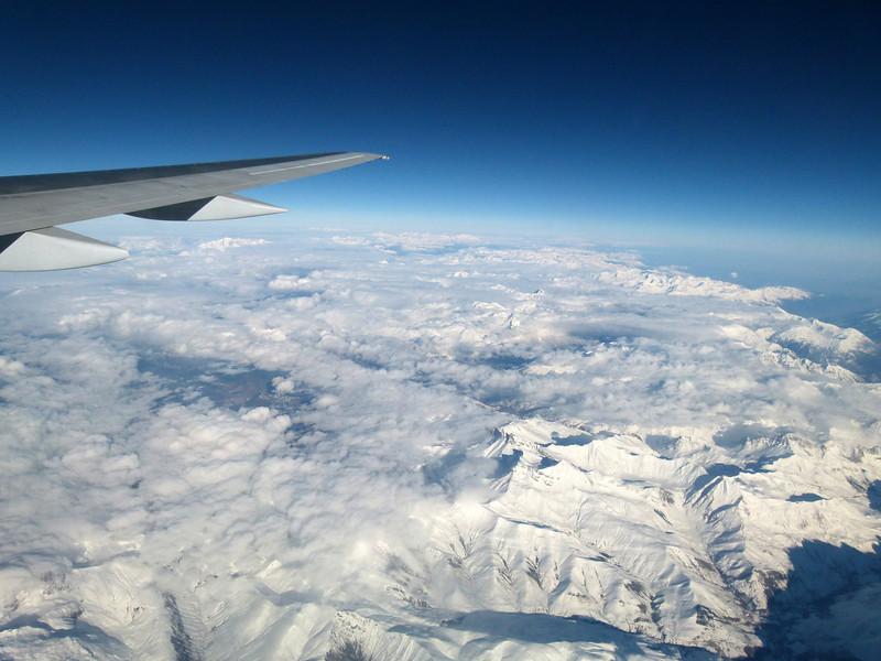 The Alps.