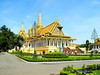Within the Royal Palace grounds at Phnom Penh, which is still the residence of King Norodom Sihamoni.
