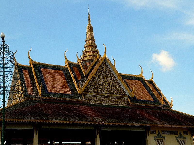 Within the grounds of the Royal Palace, Phnom Penh.