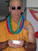 A monk on board our Qantas aircraft.