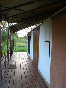 "The ""front"" verandah of Tent 12."
