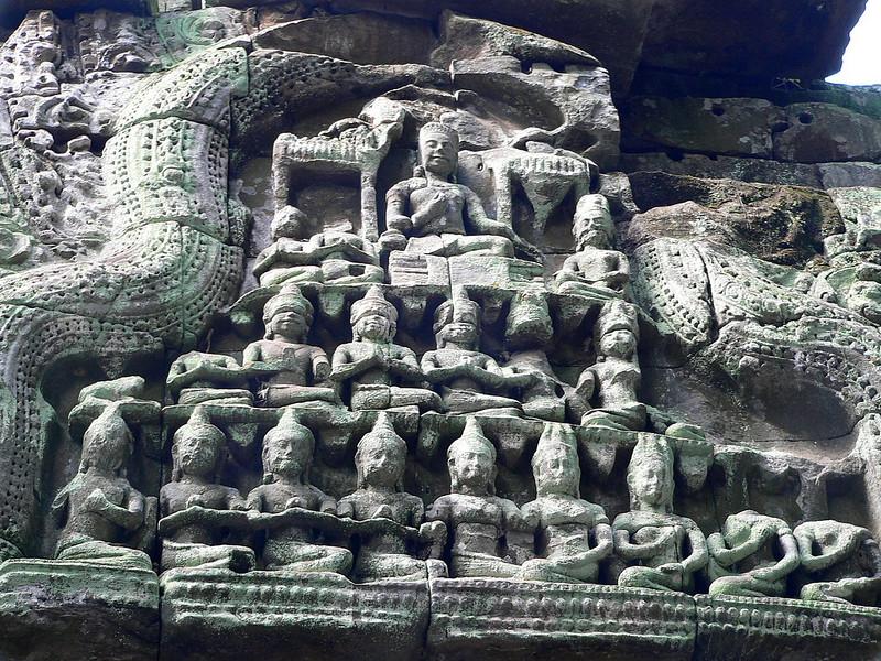 Ta Prohm Temple.