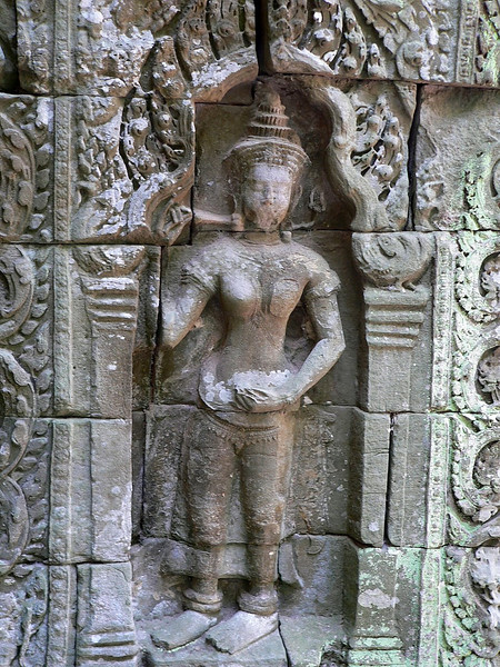 Ta Prohm Temple.