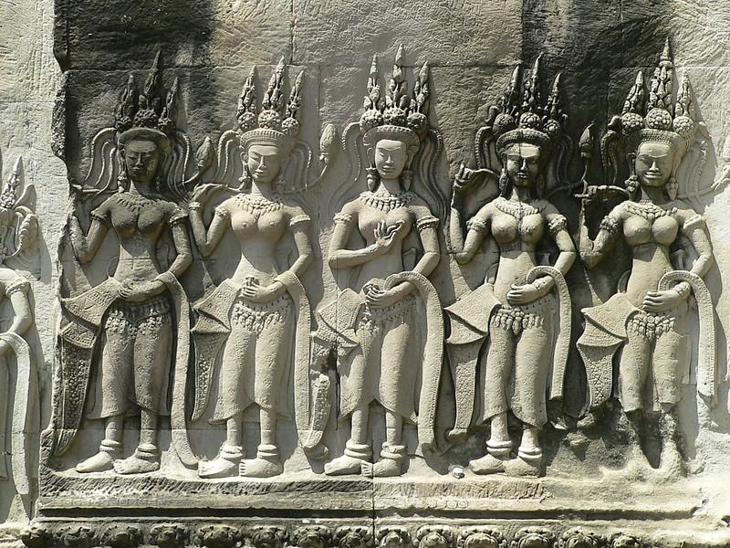 Asparas - Angkor Wat.