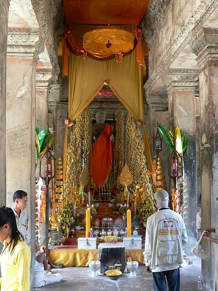 Temple inside Angkor Wat.