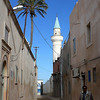 Inside the Medina in Tripoli.