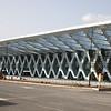 Marrakech International Airport - under reconstruction - February 2008.