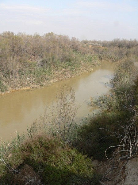 Another section of the River Jordan.