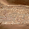 Another close up of the floor mosaic fragment in the 7th-century Church of John the Baptist.