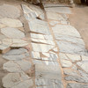 Close up of the previous marble tile fragments.