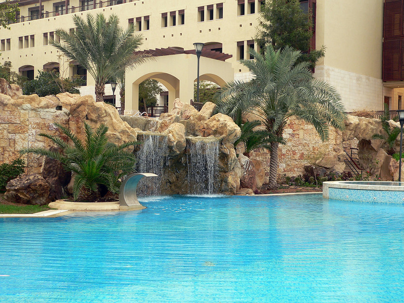 Another pool within our hotel grounds.