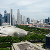Sunday, May 23, 2010 - View from Room 1706 at Marina Mandarin, Singapore.