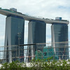 New hotel in Singapore - Marina Bay Sands.   This new hotel contains a restaurant run by Tetsuya.