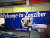 Zanzibar International Airport.